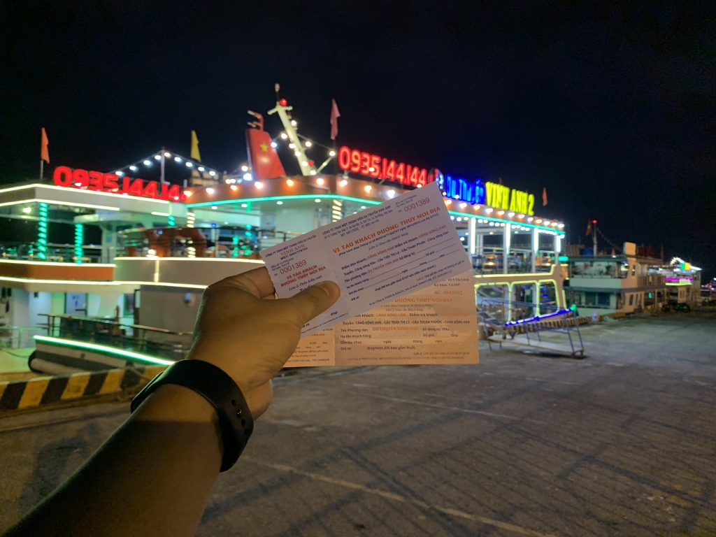 Vé du thuyền Sông Hàn Đà Nẵng