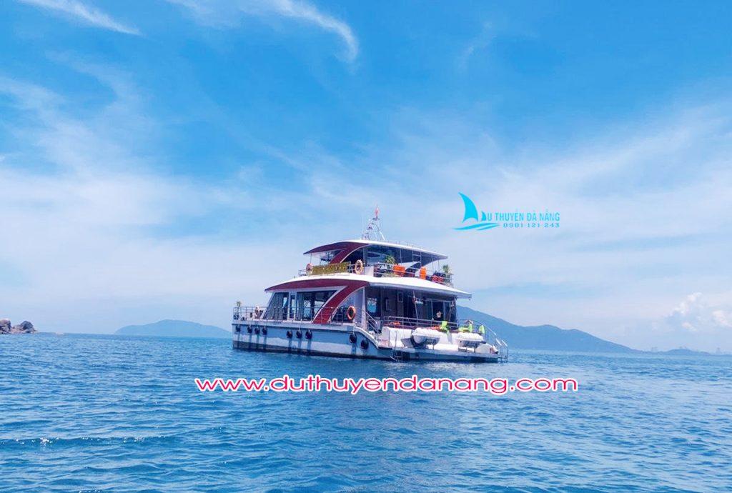 Tour du thuyền Hòn Chảo Đà Nẵng