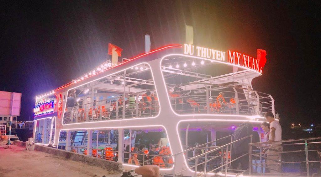 Du thuyền Mỹ Xuân Đà Nẵng